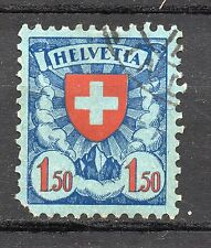 Switzerland : 1924 1,50 Francs ( Coat of Arms ) used