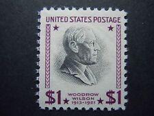1938 #832 $1.00 Woodrow Wilson Presidential Issue MNH OG