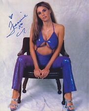 Francine autographed 8x10 ECW WWE TNA Free Shipping #3 Cleavage