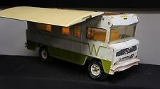 VINTAGE TONKA WINNEBAGO RV MOTOR HOME Steel Camper 1970's Removeable Roof