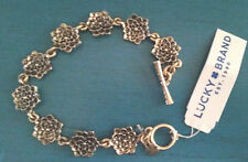 NWT Lucky Brand Flowers Bracelet Gold Tone Style JLD0772
