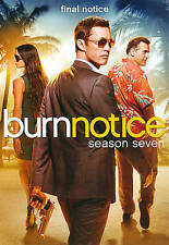 Burn Notice: Season Seven 7 7th (DVD, 2013, 4-Disc Set) NEW