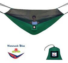 Hammock Bliss No-See-Um No More, Camping Hammock with Mosquito Netting