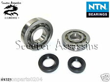 CRANKSHAFT BEARINGS + OIL SEAL KIT for KYMCO Super-8 50,Super-9 50 (2 Stroke)
