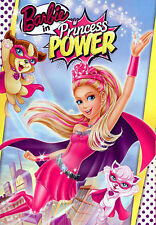 BARBIE IN PRINCESS POWER NEW DVD  FREE SHIPPING!!!!!