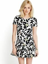 Fearne Cotton Bird Print Summer Dress  UK 14