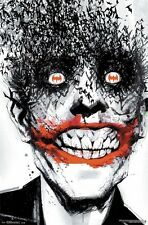 BATMAN ~ DETECTIVE #880 JOKER BATS 22x34 COMIC ART POSTER DC Jock NEW/ROLLED!