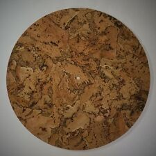 Mojave Cork Turntable Mat (FLAT) - Audiophile Mat Vinyl Record LP's - Pure Cork