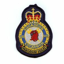 RCAF CAF Canadian 400 Squadron Heraldic Colour Crest Patch