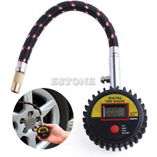 Digital LCD Tire Tyre Air Pressure Gauge Meter Motorcycle Car Bike 300 PSI
