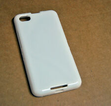 CUSTODIA COVER per BLACKBERRY Z30 SILICONE BACK CASE BIANCA