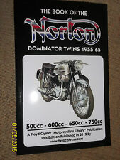 BOOK OF THE NORTON DOMINATOR TWINS MANUAL 88 88SS 99 99SS 650 650SS ATLAS '55-65