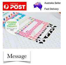 Message 20 pcs Polaroid Photo Films Sticker Album FujiFilm Instax Mini 8/7/7S/90