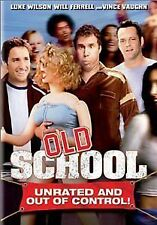 Old School Unrated and Out Of Control DVD