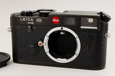 [EXC+++] Leica M6 Classic Black 35mm Rangefinder Film Camera Body Only F/S #N333