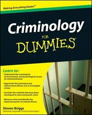 Criminology For Dummies by Steven Briggs 9780470396964 (Paperback, 2009)