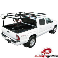 Compact Contractor Pickup Truck Tool Ladder Lumber Rack Loads up to 1000 pounds