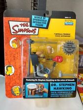 The Simpsons Playmates WOS Series 13 Stephen Hawking Interactive Figure MOC