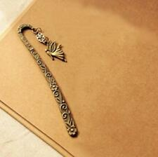 Creative Retro Vintage Metal Alloy Bookmark Document Book Label DIY Gift Q.