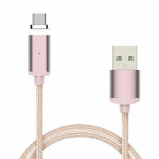 2.4A Micro USB Metal Magnetic Charging PC Cable Charger for Android Smart Phone