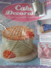 Deagostini Cake Decorating Magazine ISSUE 132 WITH LARGE RUFFLE NOZZLE