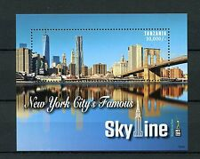 Tanzania 2016 MNH New York City Famous Skyline NY2016 1v S/S Skyscrapers Stamps