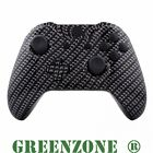 Black Carbon Fibre Replacement Xbox One Hydro Dipped Controller Shell Mod Kit