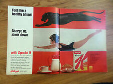 1966 Kellogg's Special K Cereal Ad Black Panther
