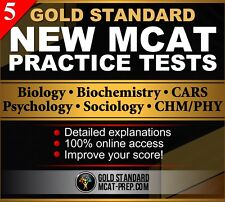 5 GS New MCAT Online Practice Tests: MCAT Exam Preparation (2016 review)