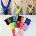 Women Chic Cotton UV Protection Arm Warmer Long Fingerless Gloves Sleeves DO