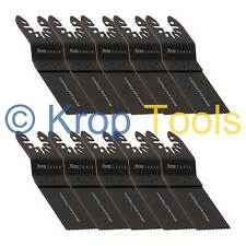 10 Multi Tool Blades Stanely FatMax Worx Hyperlock 35mm Standard Wood by KROP