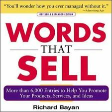 Words That Sell : More Than 6,000 Entries to Help You Promote  (FREE 2DAY SHIP)