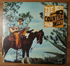 "12"" LP Vinyl Fischer The best of country and west SRS 555-D 1975 TOP!"