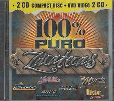 Los Temerarios Grupo Montez De Durango Hector Montemayor CD+ DVD Nuevo Sealed