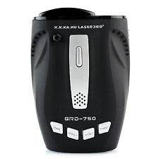 GRD-750 RADAR DETECTOR LASER GUN SPEED CAR GATSO CAM 16 BAND 360 DEGREE GRD 750