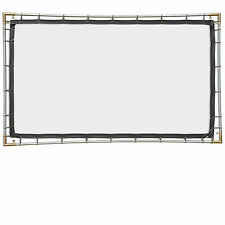 Carl's FlexiWhite, 16:9, 5x9, Hanging Projector Screen Kit, White