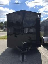 2017 7x16TA Enclosed Cargo Trailer **BLACKOUT EDITION**
