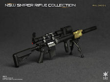 1/6 Easy & Simple NSW Sniper Rifle MK12MOD1 Rifle Set *TOY ACTION FIGURE SIZE*
