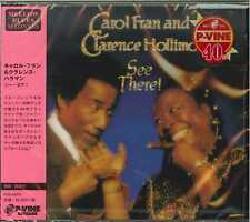 CAROL FRAN AND CLARENCE HOLLIMON-SEE THERE!-JAPAN CD F04