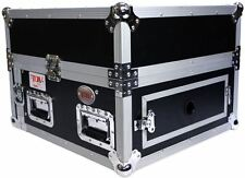 Pro X T-4MRSS Signature Series 4U+10U Space Slant Combo DJ ATA Rack Flight Case