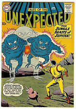 TALES OF THE UNEXPECTED #57 (DC 1961, fn/vf 7.0) guide valueL $91.50 (£61.00)