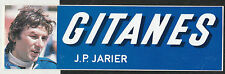 GITANES LIGIER JS21 JEAN JARIER ORIGINAL PERIOD RACING F1 STICKER AUTOCOLLANT GP