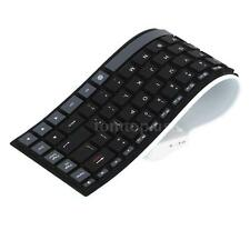 Flexible Silicone Wireless Keyboard Bluetooth 3.0 for Android iPhone Tablet PC