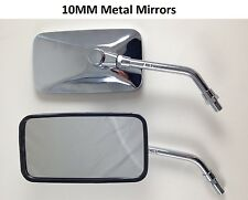 10mm Chrome Mirrors Mirror Set Honda VF VT 500 600 700 750 Shadow ACE