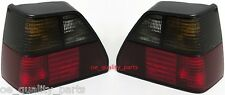 VW GOLF 2 II MK2 LEFT RIGHT 2X PAIR REAR TAIL LAMP LAMPS LIGHT LIGHTS SMOKED GTI