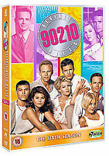 BEVERLY HILLS 90210 COMPLETE SERIES 6 DVD Box Set Season Collection 6th Sixth UK