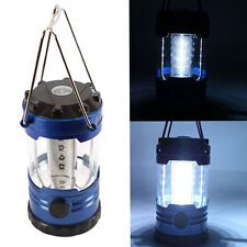 New Outdoor Camping Hiking Light Portable Tent Lamp 12 LED Lantern with Campass