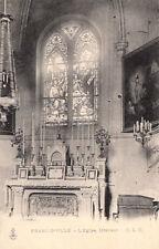FRANCONVILLE l'église intérieur timbrée