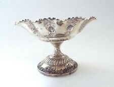 Table Centre Bowl Solid Sterling Silver Victorian Romantic Art Mappin Webb 1898