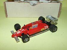 FERRARI 126 C2 1982 PIRONI KIT MONTÉ TENARIV 1:43 Arrivée 2ème championnat